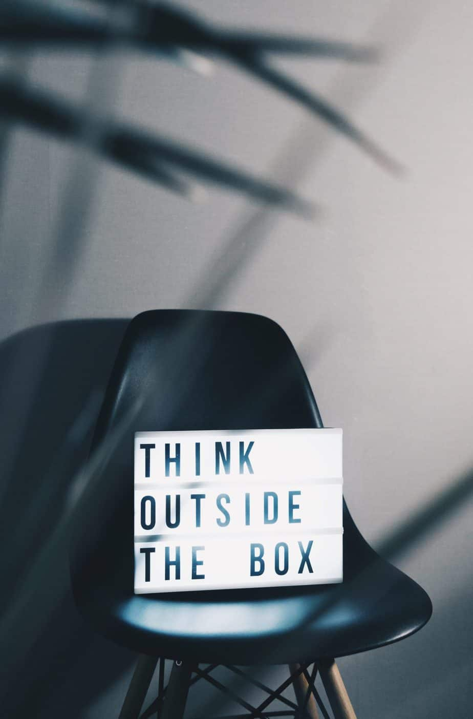 Think outside the box, and make your customer compete for you instead