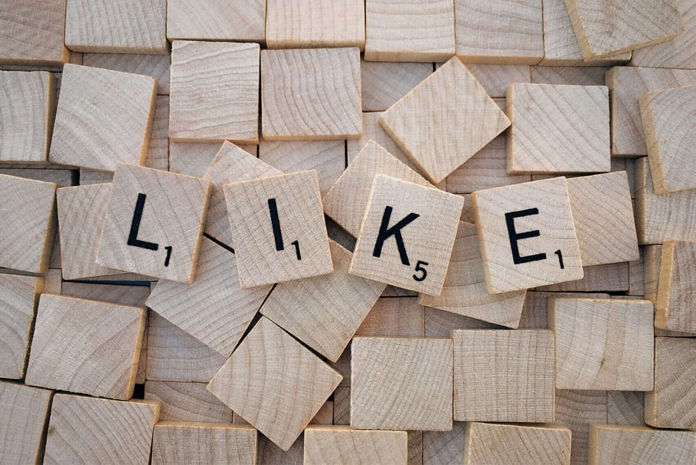 You get addicted to the likes on Social Media